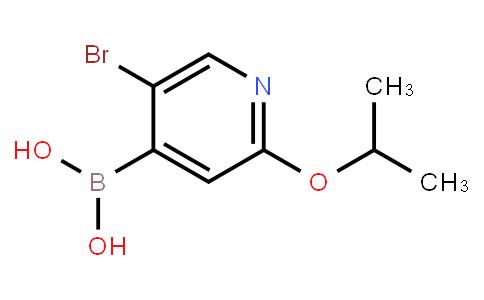 BP21190   1451390-98-9   5-Bromo-2-(isopropoxy)pyridine-4-boronic acid