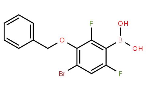 BP21233 | 1451393-14-8 | 3-Benzyloxy-4-bromo-2,6-difluorophenylboronic acid