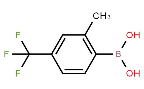 BP21252 | 957034-45-6 | 2-Methyl-4-(trifluoromethyl)phenylboronic acid
