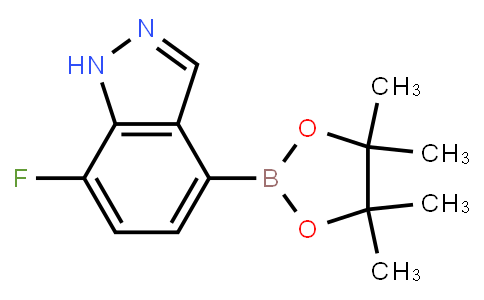 BP21255 | 1186334-64-4 | 7-Fluoro-1H-indazole-4-boronic acid pinacol ester