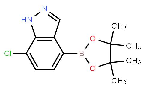 BP21256 | 1186334-62-2 | 7-Chloro-1H-indazole-4-boronic acid pinacol ester