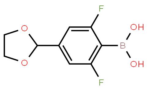BP21274 | 1072946-41-8 | 4-(1,3-Dioxolan-2-yl)-2,6-difluorophenylboronic acid