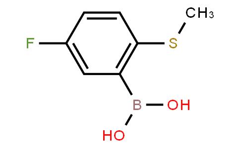 BP21276 | 1218790-65-8 | 5-Fluoro-2-(methylthio)phenylboronic acid