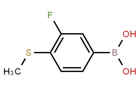 BP21287 | 221030-80-4 | 3-Fluoro-4-(methylthio)phenylboronic acid
