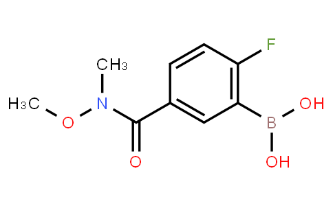 BP21316 | 874289-59-5 | 2-Fluoro-5-(methoxy(methyl)carbamoyl)phenylboronic acid
