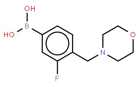 BP21334 | 1333388-00-3 | 3-Fluoro-4-(morpholinylmethyl)phenylboronic acid