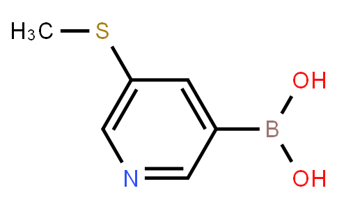 BP21346   477251-98-2   5-(Methylthio)pyridine-3-boronic acid