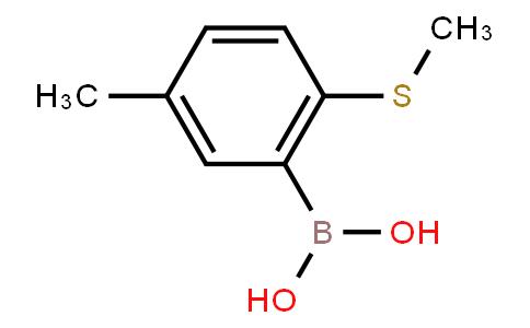 BP21382 | 1259443-48-5 | 5-Methyl-2-(methylthio)phenylboronic acid