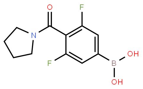 BP21392   1264616-16-1   3,5-Difluoro-4-(1-pyrrolidinylcarbonyl)phenylboronic acid