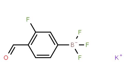 BP21409 | 1451390-71-8 | Potassium (3-fluoro-4-formylphenyl)trifluoroborate