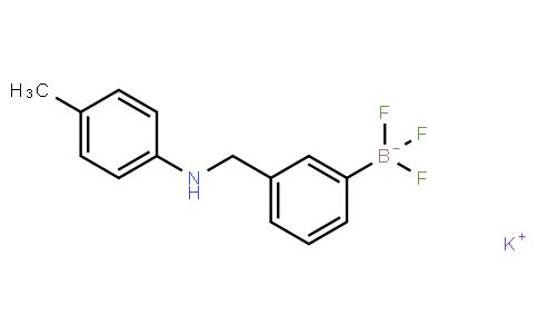 BP21410 | 1190095-02-3 | Potassium 3-((4-methylphenylamino)methyl)phenyltrifluoroborate