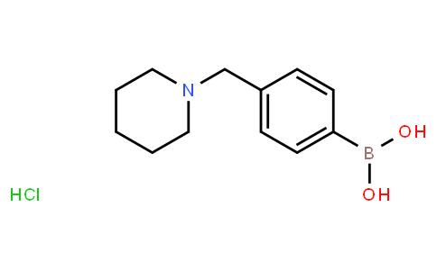 BP21423   1301198-10-6   4-(Piperidin-1-ylmethyl)phenylboronic acid hydrochloride