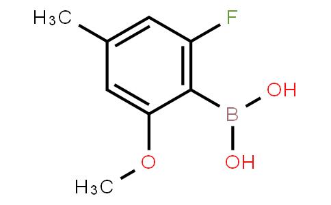 BP21425   1451392-08-7   2-Fluoro--6-methoxy-4-methylphenylboronic acid