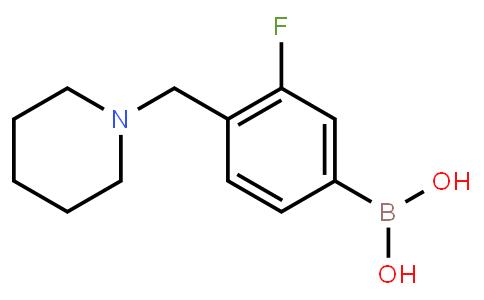 BP21426 | 1334173-50-0 | 3-Fluoro-4-(piperidin-1-ylmethyl)phenylboronic acid