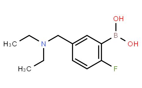 BP21441 | 1334226-26-4 | 5-((Diethylamino)methyl)-2-fluorophenylboronic acid