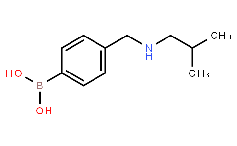 BP21447 | 397843-60-6 | 4-[[(2-methylpropyl)amino]methyl]phenylboronic acid