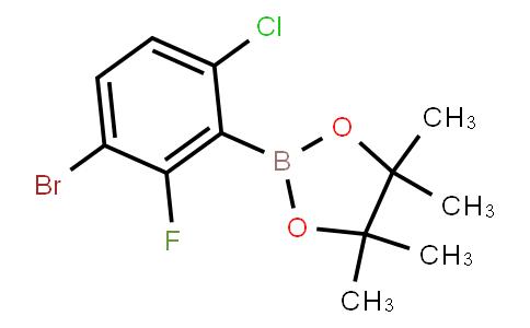 BP21457 | 1451391-12-0 | 3-Bromo-6-Chloro-2-fluorophenylboronic acid pinacol ester