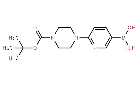 BP21469 | 919347-67-4 | 2-(4-N-Boc-piperazino)pyridine-5-boronic acid