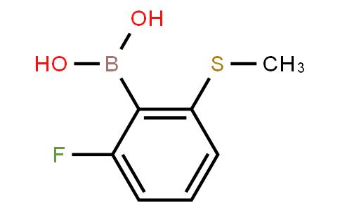 BP21483 | 1451392-58-7 | 6-Fluoro-2-(methylsulfanyl)phenylboronic acid