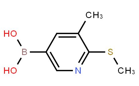 BP21485   1190206-49-5   3-Methyl-2-(methylthio)pyridine-5-boronic acid