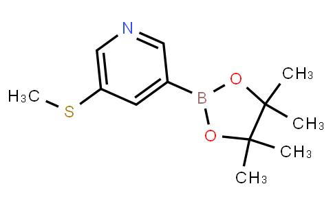 BP21487   1171891-40-9   5-(Methylthio)pyridine-3-boronic acid pinacol ester