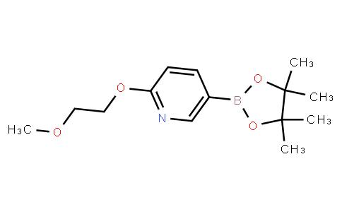 BP21492 | 1257553-79-9 | 2-(2-Methoxyethoxy)-5-(4,4,5,5-tetramethyl-[1,3,2]dioxaborolan-2-yl)pyridine