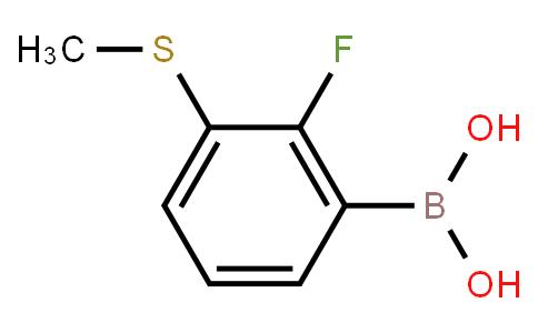 BP21500   1451392-57-6   2-Fluoro-3-(methylsulfanyl)phenylboronic acid