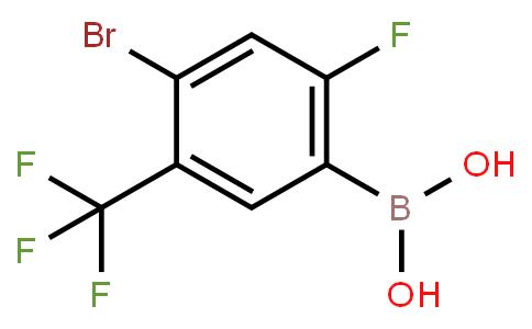BP21502 | 1451393-15-9 | 4-Bromo-2-fluoro-5(trifluoromethyl)phenylboronic acid