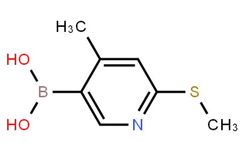 BP21515 | 1451392-61-2 | 4-Methyl-2-(methylthio)-5-pyridylboronic acid