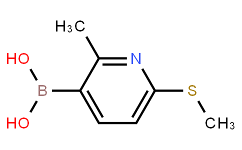 BP21516 | 1451392-60-1 | 2-Methyl-6-(methylthio)-3-pyridylboronic acid