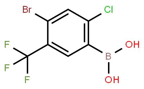 BP21520 | 1451393-21-7 | 4-Bromo-2-Chloro-5-(trifluoromethyl)phenylboronic acid