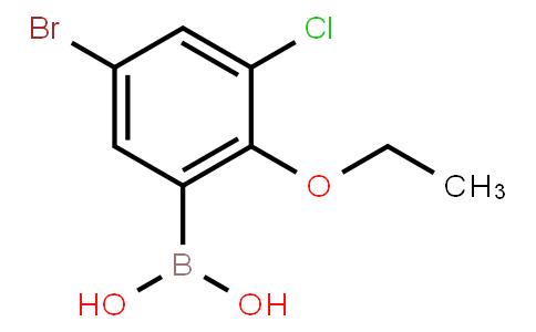 BP21521 | 1451391-70-0 | 5-Bromo-3-chloro-2-ethoxyphenylboronic acid