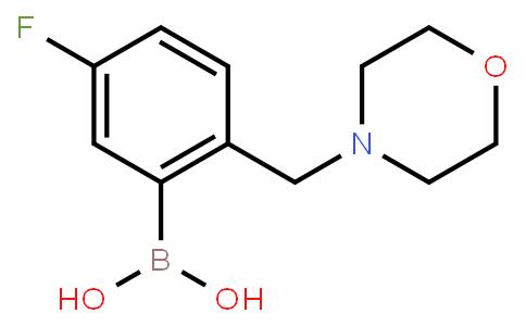 BP21522 | 1292755-44-2 | [5-Fluoro-2-(morpholin-4-ylmethyl)phenyl]boronic acid