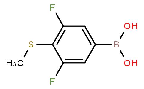 BP21531   1451392-38-3   3,5-Difluoro-4-(methylthio)phenylboronic acid