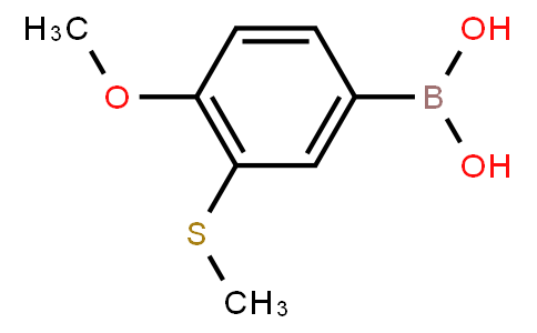 BP21533   1451392-05-4   4-Methoxy-3-(methylthio)phenylboronic acid