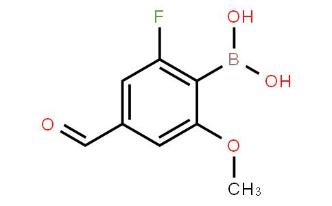 BP21539   1451392-10-1   2-Fluoro-4-formyl-6-methoxyphenylboronic acid