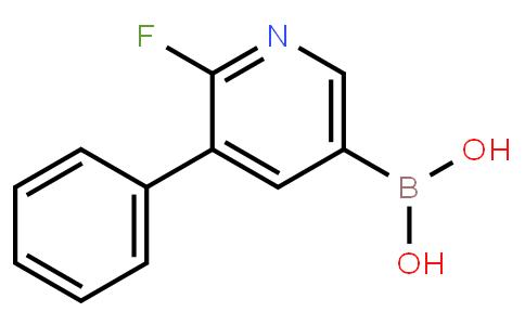 2-Fluoro-3-phenylpyridine-5-boronic acid