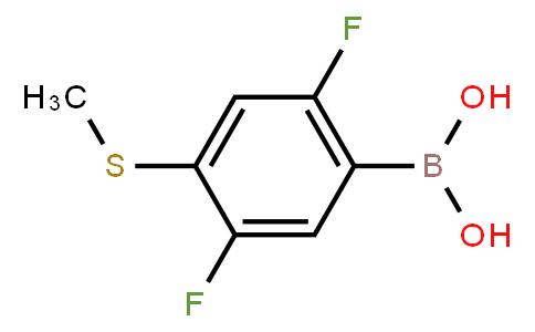 BP21552 | 1451392-37-2 | 2,5-Difluoro-4-(methylsulfanyl)phenylboronic acid