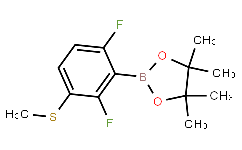 BP21567 | 1355011-72-1 | 2,6-Difluoro-3-(methylthio)phenylboronic acid pinacol ester