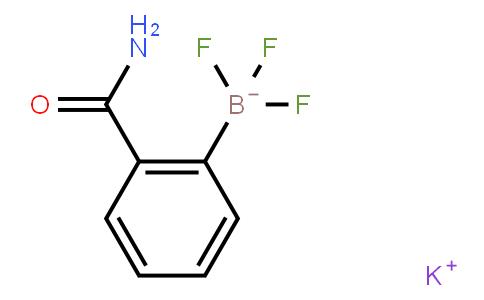 BP21571 | 850623-70-0 | Potassium (2-aminocarbonylphenyl)trifluoroborate