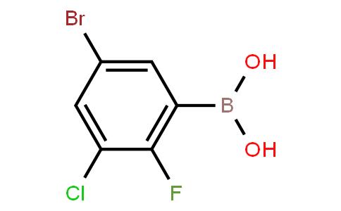 BP21591 | 1451393-27-3 | 5-Bromo-3-chloro-2-fluorophenylboronic acid