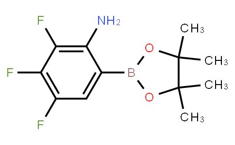 BP21594 | 1451391-20-0 | 2,3,4-Trifluoro-6-(4,4,5,5-tetramethyl-1,3,2-dioxaborolan-2-yl)aniline