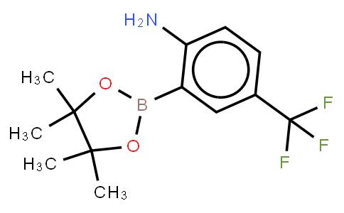 BP21596   1058062-64-8   2-Amino-5-(trifluoromethyl)phenylboronic acid, pinacol ester
