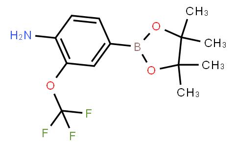 BP21602   1256360-36-7   4-Amino-3-(trifluoromethoxy)phenylboronic acid pinacol ester