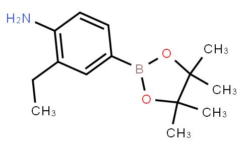 2-Ethyl-4-(4,4,5,5-tetramethyl-1,3,2-dioxaborolan-2-yl)aniline