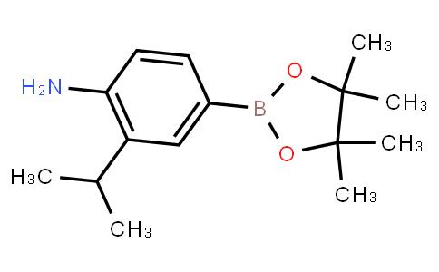 4-Amino-3-isopropylphenylboronic acid pinacol ester