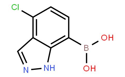 4-Chloro-1H-indazol-7-ylboronic acid