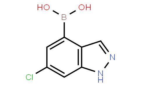 6-Chloro-1H-indazole-4-boronic acid
