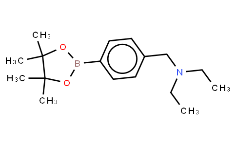 BP21615 | 1012785-44-2 | 4-(N,N-Diethylaminomethyl)phenylboronic acid, pinacol ester
