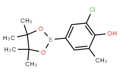 BP21620 | 1294518-25-4 | 2-Chloro-6-methyl-4-(4,4,5,5-tetramethyl-1,3,2-dioxaborolan-2-yl)phenol
